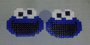 two Cookie monster